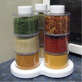 10-Piece Spice Rack Set