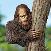 Bigfoot The Bashful Yeti Tree Statue