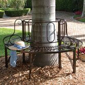 Architectural Metal Tree Bench
