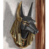 Anubis the Jackal God Wall Sculpture