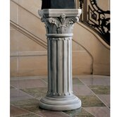The Athena Corinthian Pedestal Plant Stand