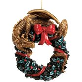 Twist and Twirl Dragon Ornament