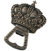 The King's Crown Cast Iron Bottle Opener