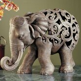 Anjan the Elephant Jali Sculpture