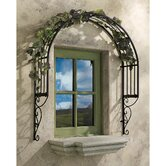 Thornbury Ornamental Garden Window Trellis Wall Decor