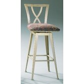 Crosse Contemporary Swivel Barstool