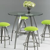 Stiletto 5 Piece Counter Height Dining Set