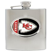 NFL 6 Oz Stainless Steel Hip Flask