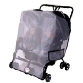 Twin Side by Side Stroller Model Canopy