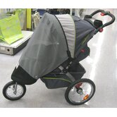 Baby Trend Single Front Swivel Wheel Expeditions, and Ride Jogger Canopy