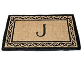 Creel Ivy Border Monogram Coco Doormat