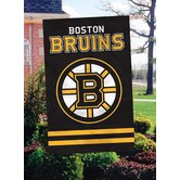 NHL Appliqué Garden Flag