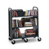 Book Utility Truck with Five Shelves