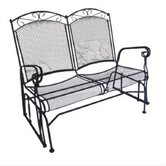 Charleston Wrought Iron Garden Bench