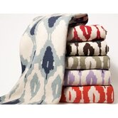 Eco Ikat Blanket