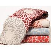 Eco Zinnia Throw Blanket