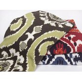 Eco Ikat 6 Cotton Throw Blanket