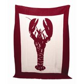 Eco Lobster Throw Blanket