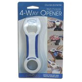 Multi Purpose Four Way Opener
