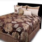 Joslin Brown 7 Piece Comforter Set