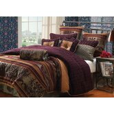 St. Petersburg 9 Piece Queen Comforter Set