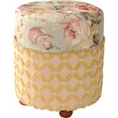 Chesapeake Fabric Ottoman