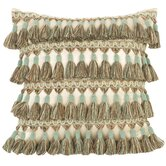 Fortune Pillow with Tassel Fringe