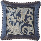 "Hampton 18"" Pillow with Braid and Cord"