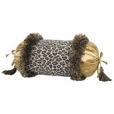 Espresso Pillow with Brush Fringe and Tassels