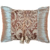Vellore Shirred Pillow with Double Tassel Garland