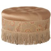 Alamosa Round Ottoman