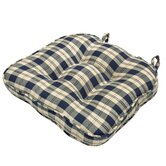 Applegate Plaid Chair Cushion (Set of 2)