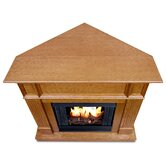Camden Ventless Gel Fuel Corner Fireplace