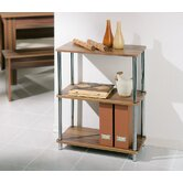 Salsa Three Shelf Bookcase