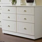Coniston 6 Drawer Midi Chest