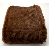 Crockett Faux Fur Pillow