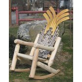 Hockey Stick Rocking Chair