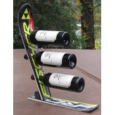 Snow 3 Bottle Tabletop Wine Rack