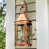 Heal Medium Base Socket with Chimney Cone Top Scroll Wall Lantern
