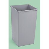 Untouchable Square Waste Receptacle - 50 Gallon