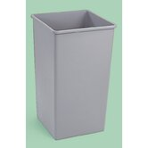 Plaza Waste Container Rigid Liner, 35 Gal