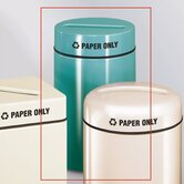 Barclay Round Paper Recycling Receptacle