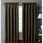 Sable Pintucked Taffeta Blackout Polyester Window Panel