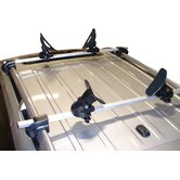 Saddle Up Pro Universal Car Rack Kayak Carrier (Set of 4) with Bow and Stern Lines