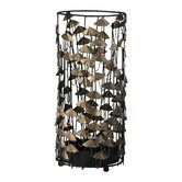 Umbrella Stand in Black and Gold