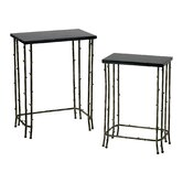 Bamboo 2 Piece Nesting Tables