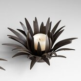 Iron Cacti Flower Novelty Candle Holders