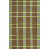 Thom Filicia Saddle Lawn Green/Brown Rug