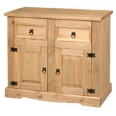 Corona Premium Small Sideboard with 2 Drawer and 2 Door