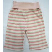 Twenty-Four Seven Rolled Waist Pant in Pink Stripes